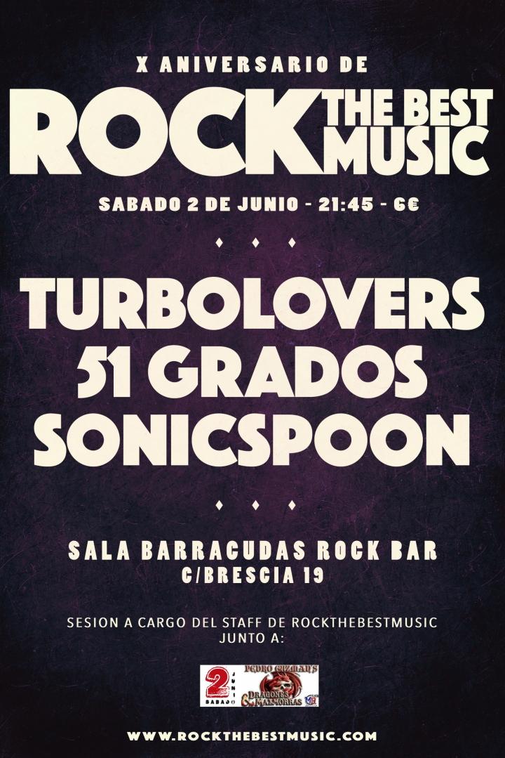 X Aniversario RockTheBestMusic